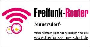 Facebook-Logo Freifunk-Sinnersdorf